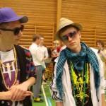 Christoffer og Tobias var Nik & Jay til deres sidste skoledag 2010
