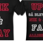 Rasmus' egen designede Nik & Jay t-shirt