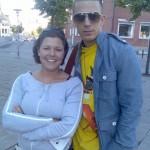 Maria & JayMaria mødte Jay tilfældigt på gaden i Kolding d. 17.05.2007