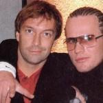 Martin Brygmann & Nik til Jon(Popstars)releaseparty 2002