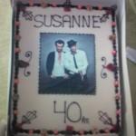 Susanne Rasmussens fødselsdagskage