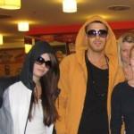 Thamis Maria & JayBarcelona lufthavn Marts 2011